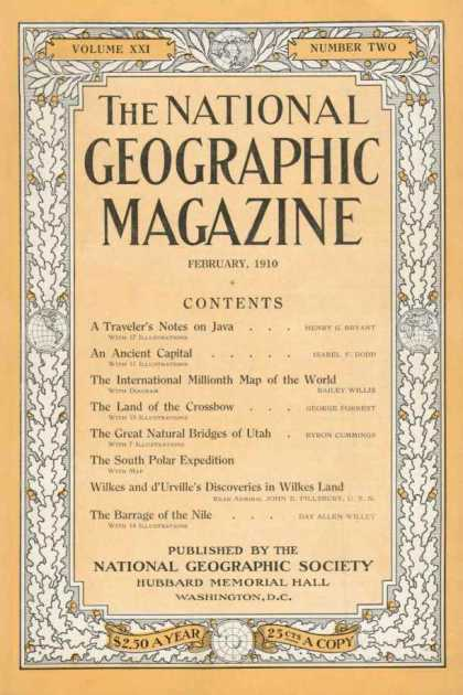 Goldforest Blog Historic National Geographic Cover