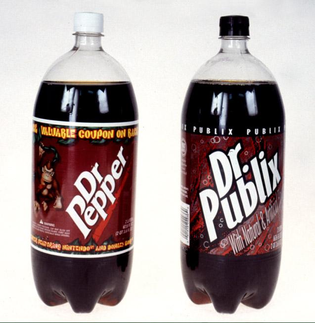 Dr. Publix vs Dr Pepper